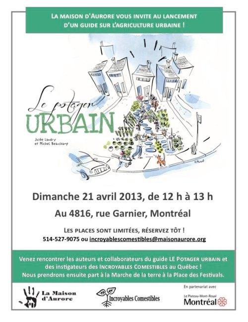 Affiche_Lancement Guide Potager urbain_21.04.2013